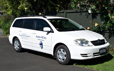 Car for Autism NZ